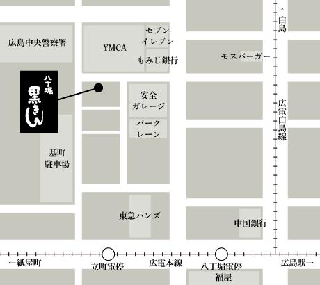 黒きん地図