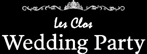 Les Clos Wedding Party